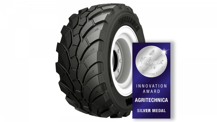 ALLIANCE Tire wins an Agritechnica Innovation Award