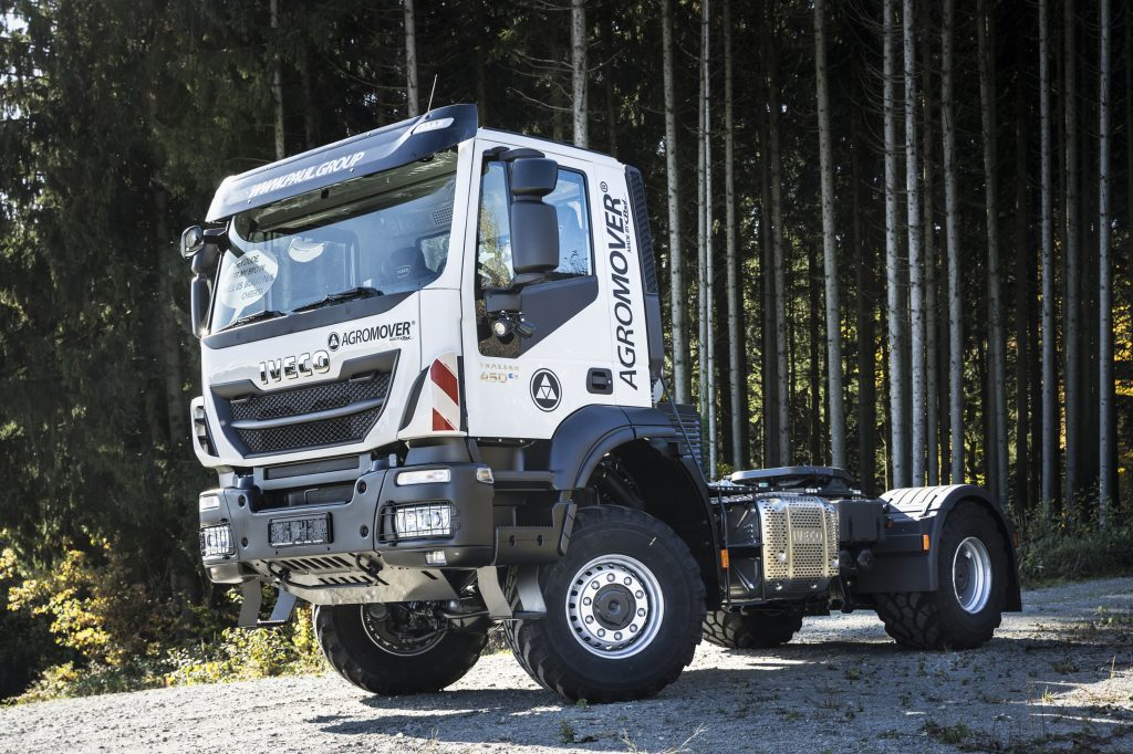 IVECO AGROMOVER Trakker 4X4 by Paul Nutzfahrzeuge GmbH. Credits: Paul Nutzfahrzeuge GmbH