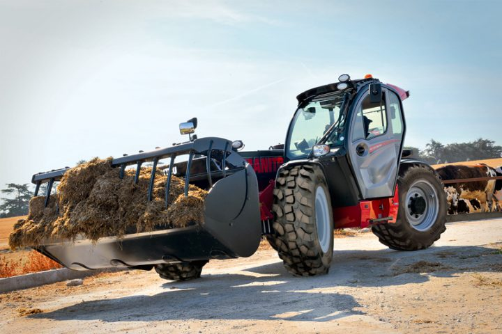 Alliance 585 Tires Become a Factory Option for the Manitou MLT NewAg Telehandlers